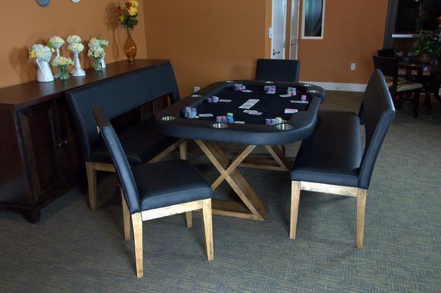 Helmsley Poker Dining Set contemporary-bar-tables