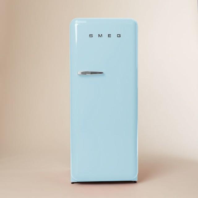Smeg Refrigerator Pastel Blue Modern Refrigerators