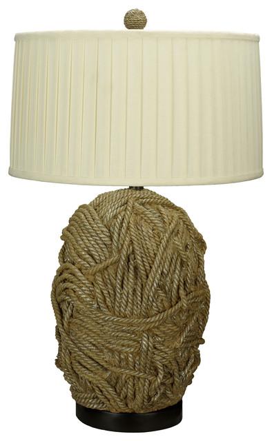 Cal Lighting BO-2014 150 W 3 Way Terra Cotta Resin  Table Lamp modern-table-lamps