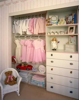 No Room For Built Ins? Use The Closet