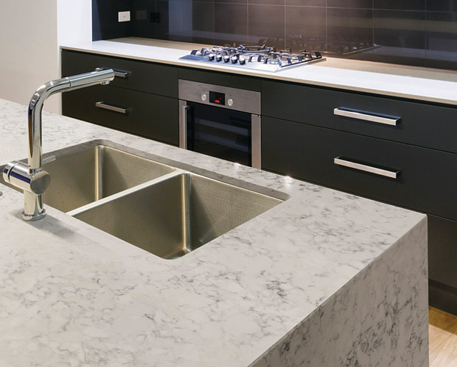 Countertop Materials Silestone : Silestone Helix - Contemporary - Kitchen Countertops - seattle - by ...