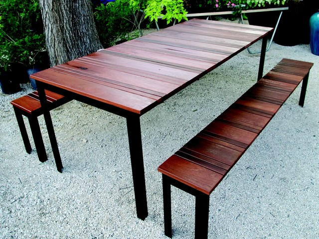 SOL Outdoor Dining Set - modern - outdoor tables - austin - by