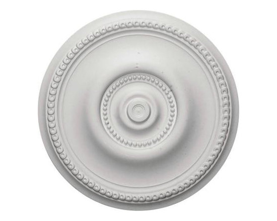 Ekena 20-5/8 in. Raynor Ceiling Medallion-CM20BE at The Home Depot -