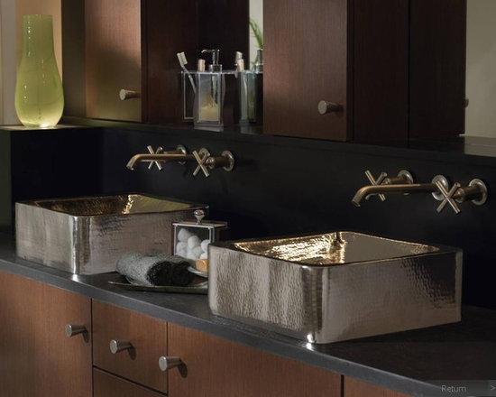 Modern Bathroom - Wood-Mode Cabinetry