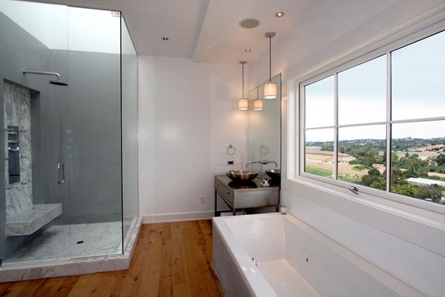 CB One modern-bathroom