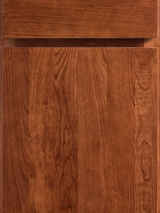 "Dura Supreme Cabinetry - Dura Supreme Cabinetry Summit Cabinet Door Style - Dura Supreme Cabinetry ""Summit"" cabinet door style in Cherry shown with Dura Supreme's ""Cinnamon"" finish."