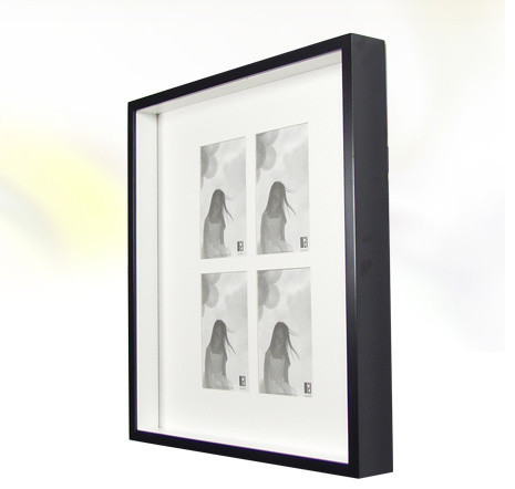 Boom - Two Tone Frame (4) 4x6 modern-picture-frames