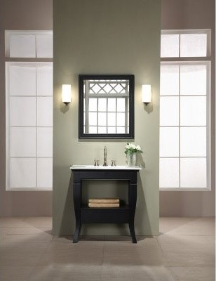 Xylem Camino 31-in. Single Bathroom Vanity with Optional Mirror modern-bathroom-vanities-and-sink-consoles