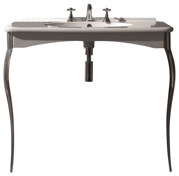 Bathroom Sink Legs : mount sink products on houzz go for a sleek looking sink