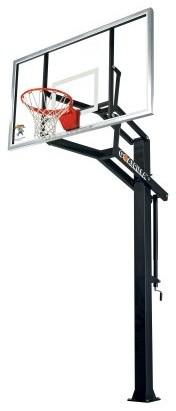 Goalrilla GS-1 Basketball System - 72 Inch Tempered Glass Backboard modern-outdoor-decor