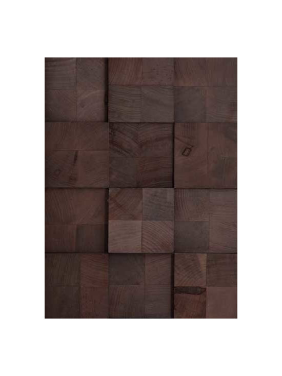 Rustic Projection - Southern Maple finished in Burnished Bark
