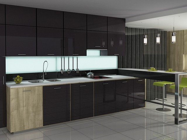 Contemporary Kitchen Cabinet Design Amusing Modern Kitchen Cabinet Doors Review