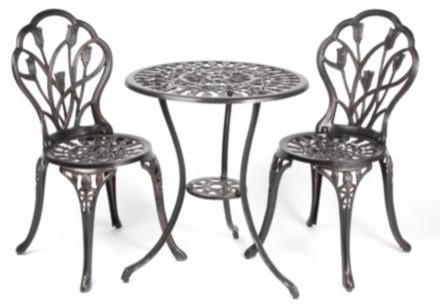 bloom bistro set traditional patio furniture and outdoor furniture