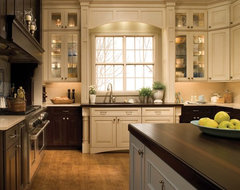 Kitchen, Bath and interior design traditional-kitchen