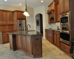 My frustrating odd shaped kitchen for Triangle kitchen island