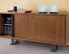 Saga Credenza CB2 modern media storage
