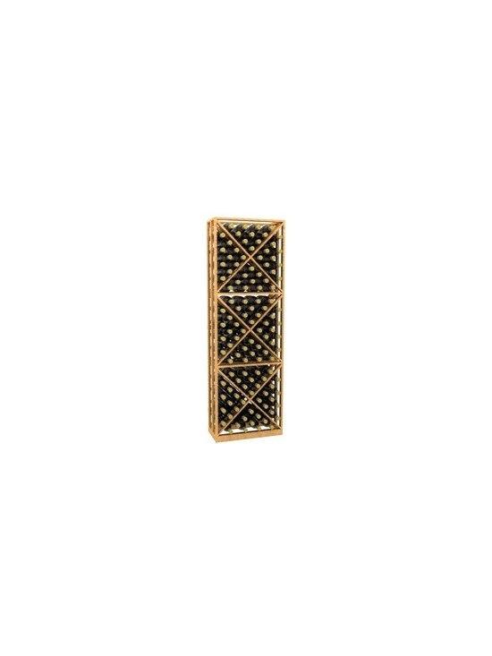 6' Lattice X-Cube Storage Wood Wine Rack - 6' Lattice X-Cube Storage Wood Wine Rack is part of our 6' Series.