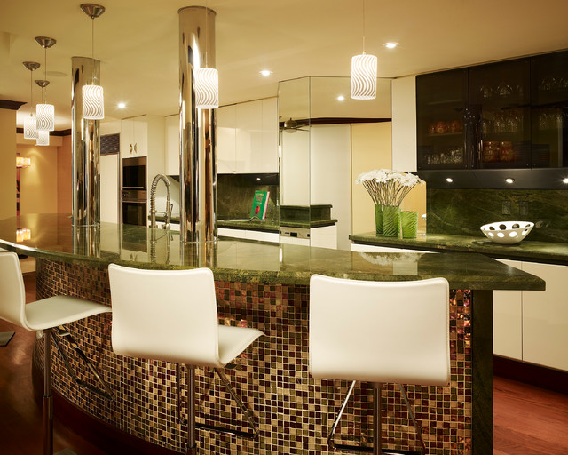 Private Residence 13 contemporary-kitchen