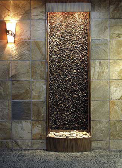 Indoor custom water feature ideas indoor fountains Diy wall water feature