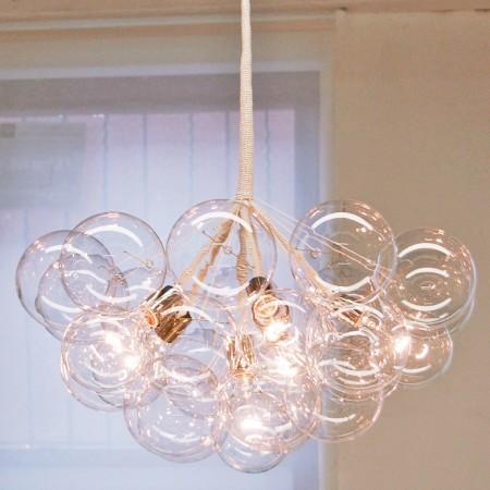 Jumbo Bubble Chandelier contemporary-chandeliers