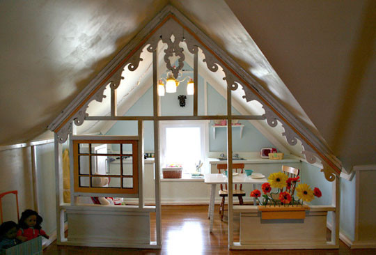 attic