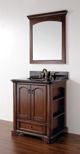Vermont 30 In Vanity In Mahogany Finish 90