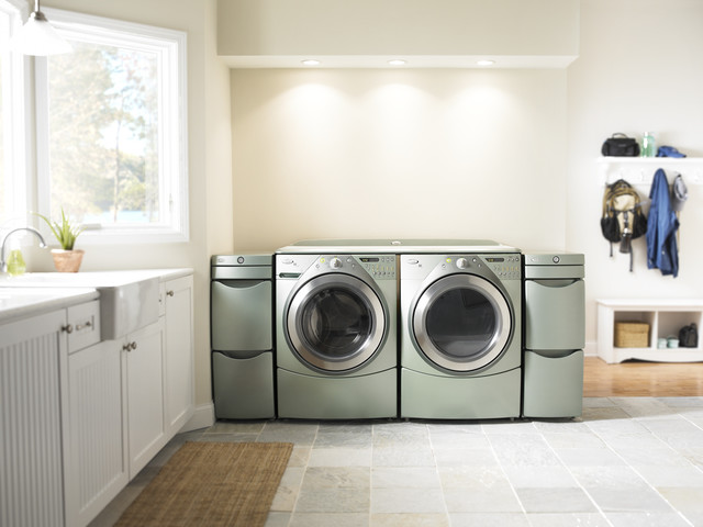 Whirlpool Duet Steam Washer contemporary-washing-machines