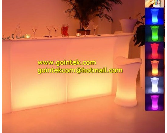 illuminated LED Plastic Bar Counters -