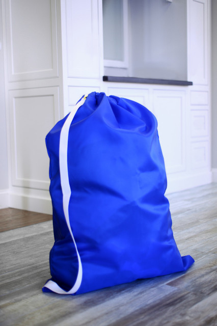 "Jumbo Laundry Bag from Keeble Outlets with Shoulder Strap - 30"" x 40"", 30"" X 40"" contemporary-hampers"