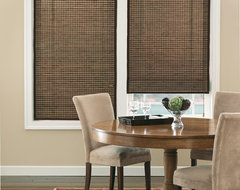 Bali Natural Woven Wood Shades traditional-