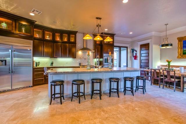 17108 Rainwater Trail - Wyatt Poindexter KW Elite traditional-kitchen