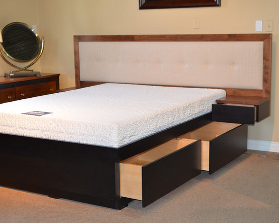 Queen Trundle Bed - Solid Wood Furniture - Hand Crafted - Kevin