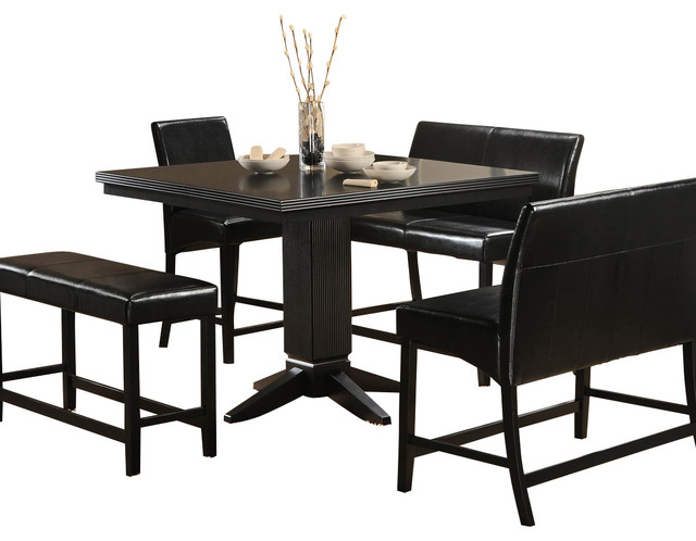 Homelegance Papario 5 Piece Counter Dining Room Set in  : traditional dining sets from www.houzz.com size 640 x 498 jpeg 56kB