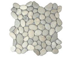 Bali Cloud Pebble Tile rustic-tile