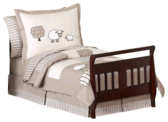 Little Lamb 5-Piece Toddler Bedding Set by Sweet Jojo Designs traditional-kids-bedding