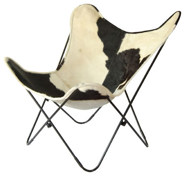 """Original """"The Bessy"""" Butterfly chair Big BKF leather chair models contemporary-living-room-chairs"""