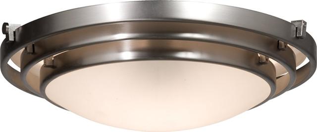 Artcraft AC2823BN Springfield Flush Mount transitional-ceiling-lighting