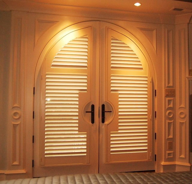 Plantation shutters traditional boston by shades in Plantation shutters for doors interior