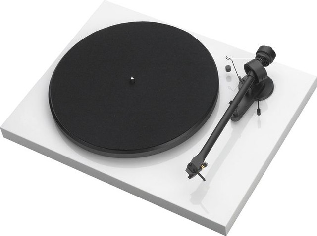 Pro-Ject Debut III Audiophile Turntable White - Modern - Home Electronics - by Musician's Friend