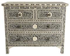 Moorish Chest traditional-dressers