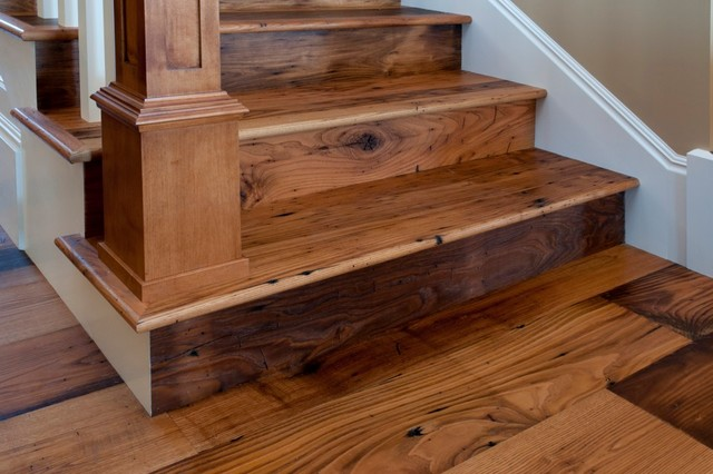 Reclaimed Antique Wormy Chestnut Hardwood Flooring