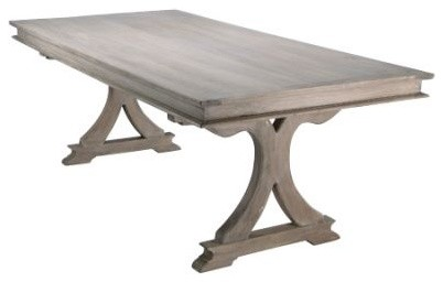 Market Wooden Rectangle Dining Table Wood Modern