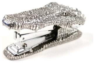 Pewter Predator Stapler eclectic-desk-accessories