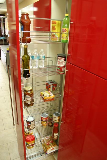 Teka Kitchen Gallery Modern Pantry Cabinets Toronto