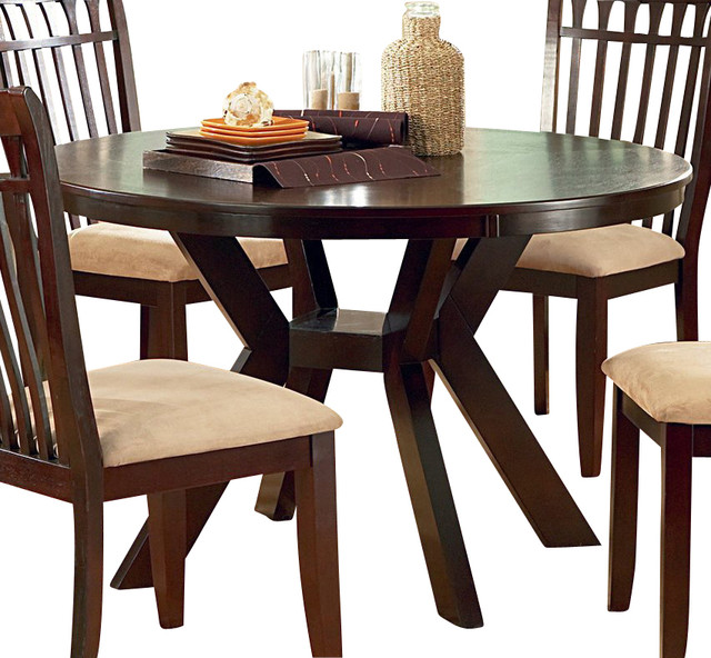 48 inch round dining table contemporary dining tables by