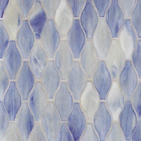 Silhouette glass tile mosaic by Hirsch modern-mosaic-tile