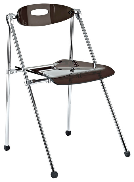 Telescoping Chair in Smoke modern-dining-chairs