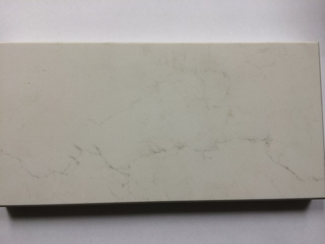 Caesarstone Frosty Carrina Quartz Contemporary Kitchen Benchtops