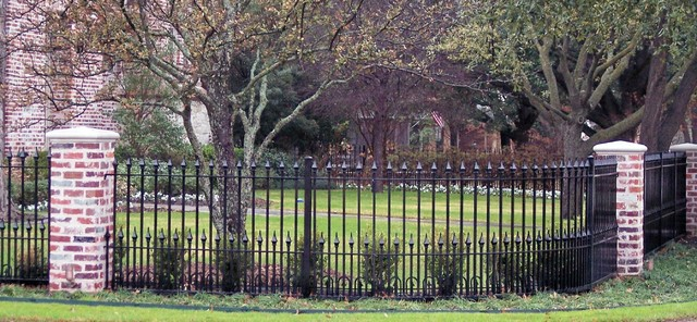 Iron Fence - Modern - Home Fencing And Gates - dallas - by Aruba Iron Works