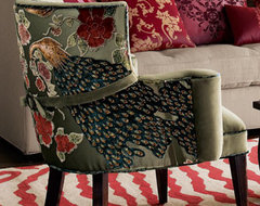 Haute House - Peacock Chair traditional-armchairs-and-accent-chairs